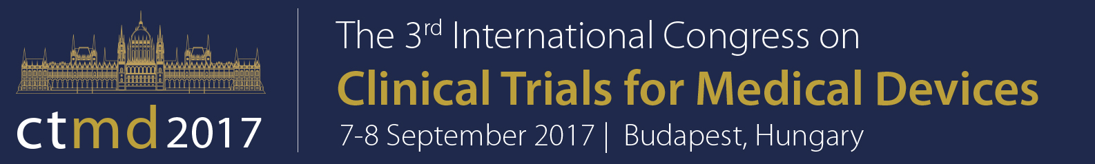 The 3rd International Congress on Clinical Trials for Medical Devices